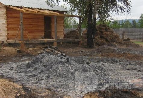 В Братском районе подросток отомстил обидчику, спалив его сено