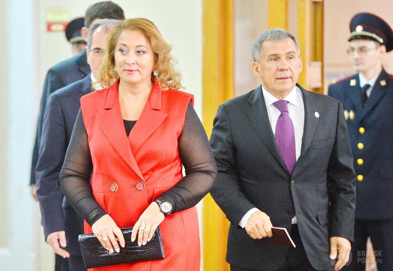 У побывавшего в Иркутске президента Татарстана, самая богатая в России жена (Рейтинг Forbes)