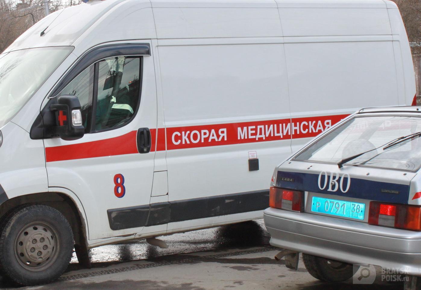 В Братске рецидивист напал на врача скорой помощи