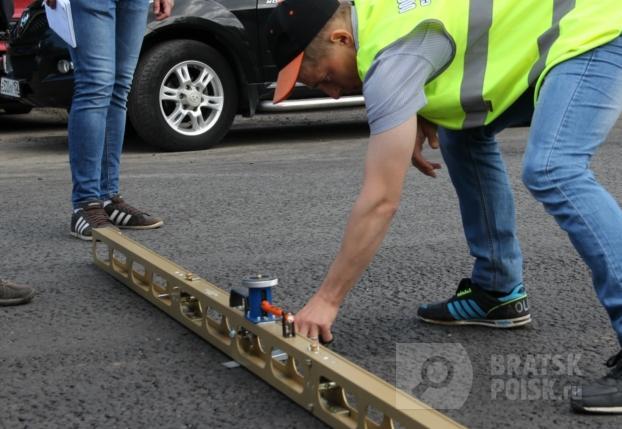 В Братске завершился ремонт дороги на улице Гагарина