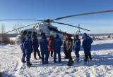 Следователи отрабатывают три основные причины катастрофы вертолета в Братском районе