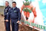 В Братске, благодаря полицейским, появилась сосновая аллея