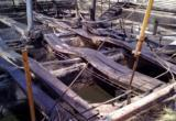 Площадь пожара на территории БЛПК составила 360 кв. метров