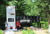 В поселке Тэмь Братского района реконструировали памятник героям Великой отечественной войны