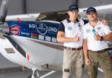 Два белоруса, совершая кругосветное путешествие на одномоторном самолете, планируют приземлиться в Братске