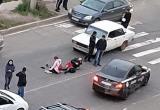 «Жигули» сбили двух девушек на пешеходном переходе Братска