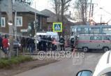 Сегодня утром в Иркутске под колесами трамвая погиб первоклассник