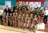 Братские гимнастки завоевали 27 наград на областном первенстве