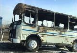 Пассажирский автобус загорелся на ходу в Братске