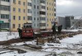 """Сквер """"Ангарские каскады"""" ориентировочно будет достроен к 20 ноября"""